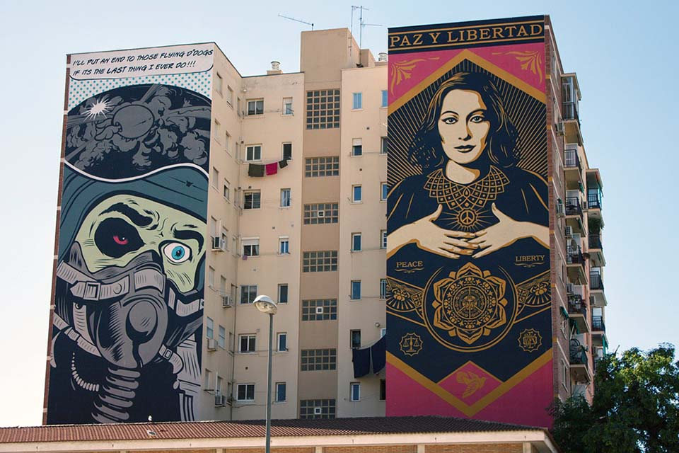 Biggest murals in Málaga