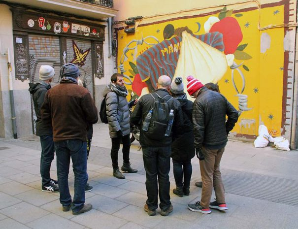 The original street art tour Madrid