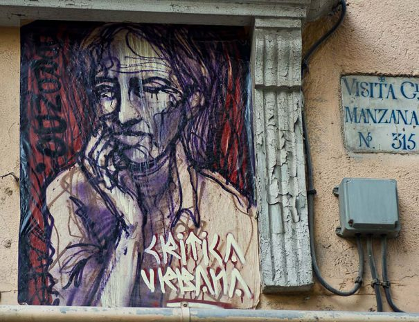 street art tour in Malasaña with Cooltourspain