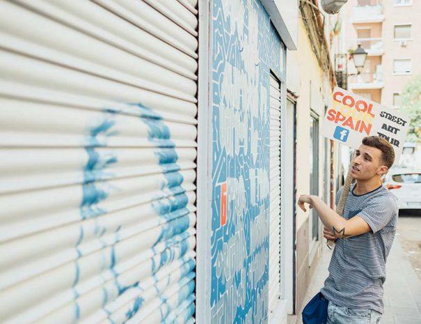 street art tour in madrid