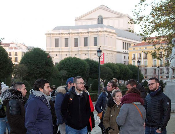 madrid history tour in English