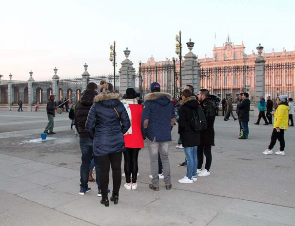 madrid history tour walking visit
