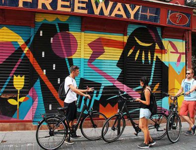 eclectic tours in Madrid by bike