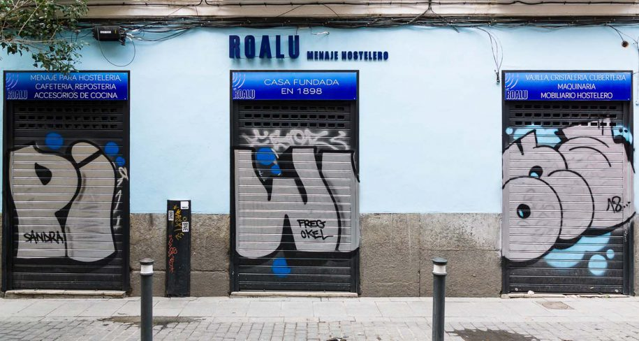 graffiti art in Madrid