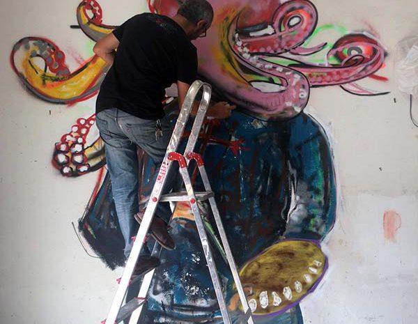 development of our street art workshop