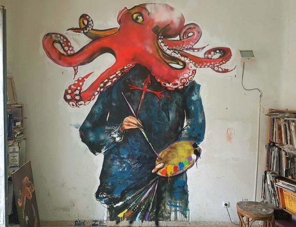 Development of a street art workshop in Madrid