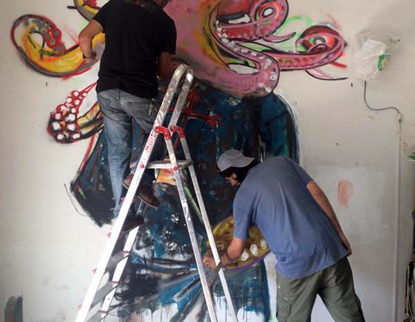 street art process
