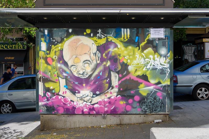 Gerbos, street artist from El Keller