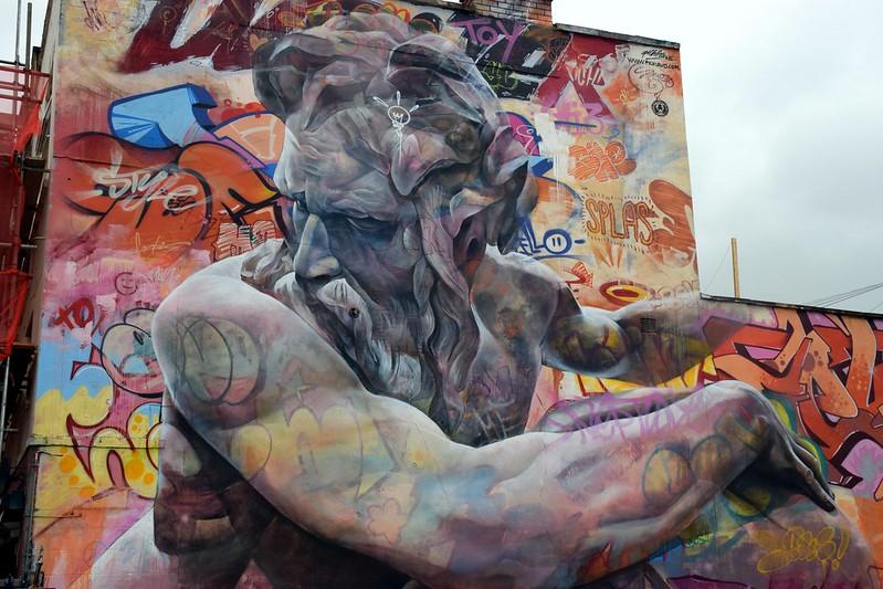 Spanish street artist duo
