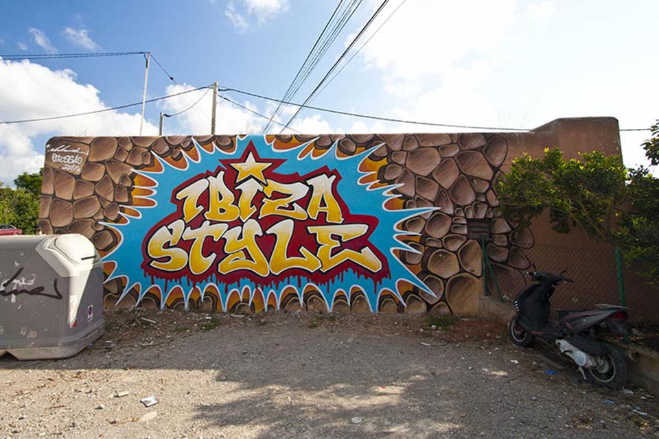 graffiti community ibiza