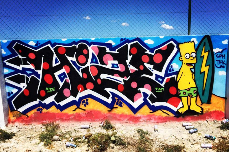 hize hip hop graffiti ibiza