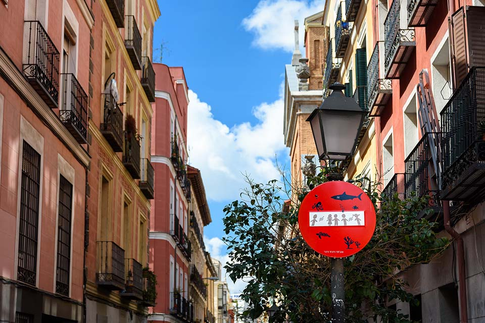 Walking tour around Malasaña district