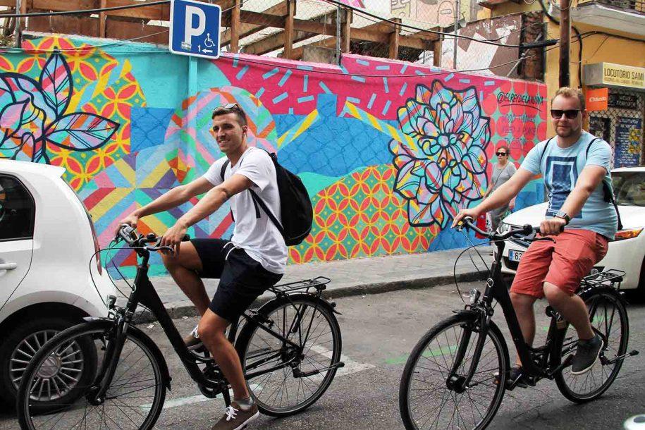 madrid bike tour with javier