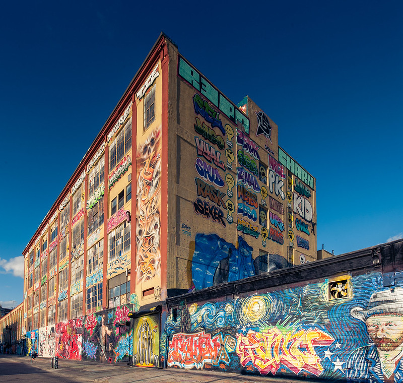 5 pointz graffiti NYC