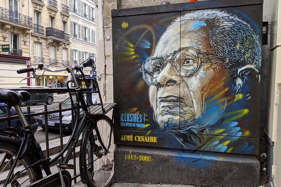 C215 famous French street art artist