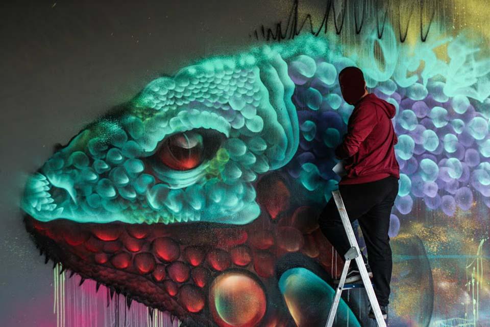 Darko graffiti Malaga