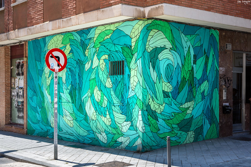 Street art artists from Spain