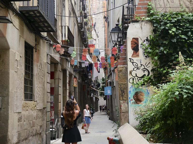 EL Gotic street art Barcelona