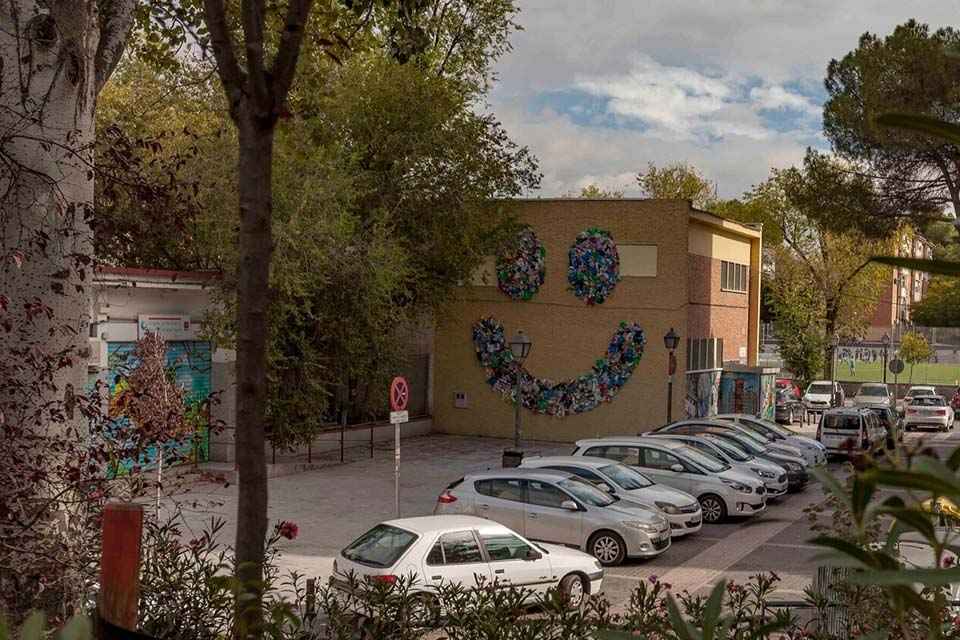 Urban art in Villaverde, Madrid