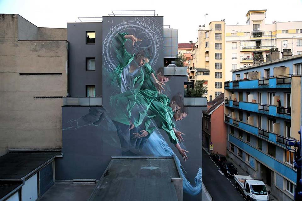 Street paiting in France