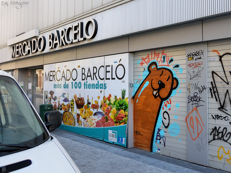 urban art in Mercado Barceló