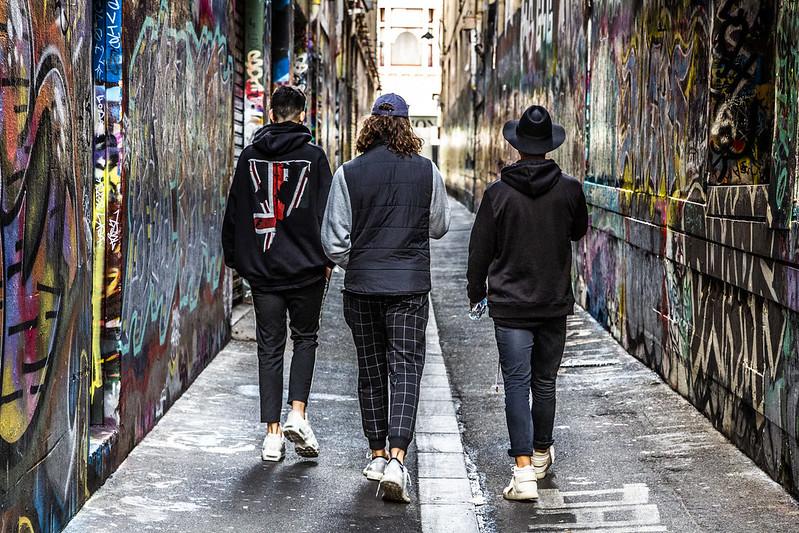 street art graffiti walls in Melbourne