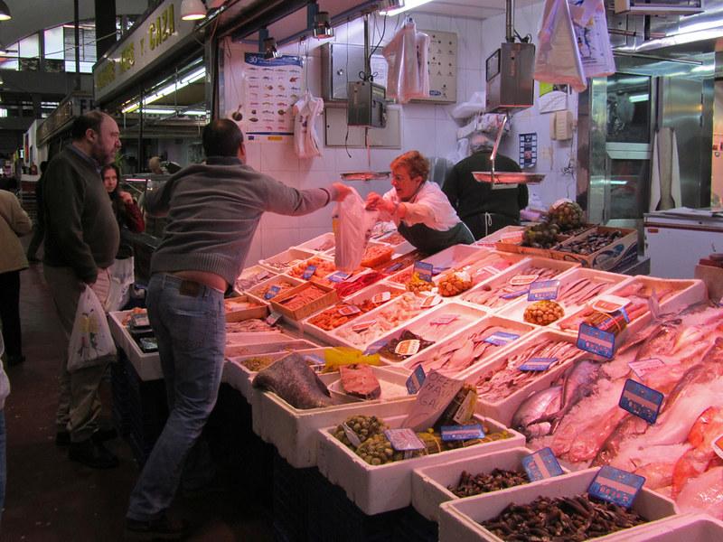 Cebada market Madrid