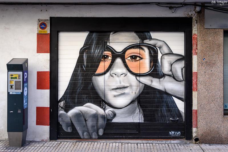 Street art Salamanca picture taken by Oscar Guerra