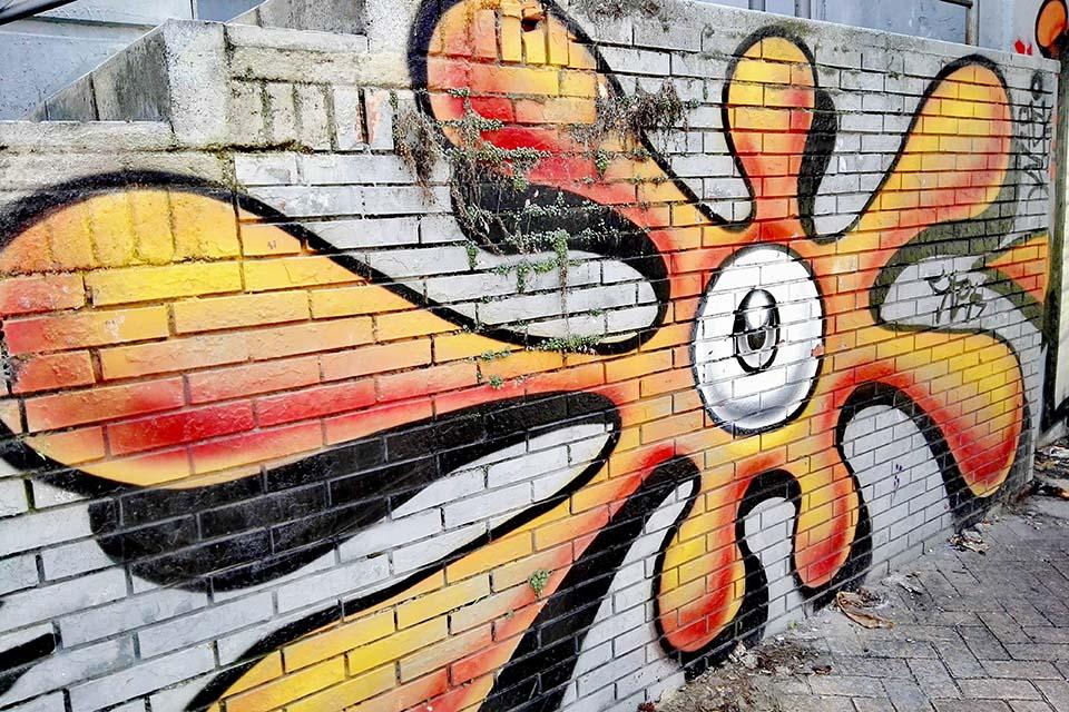 street art in SOHO
