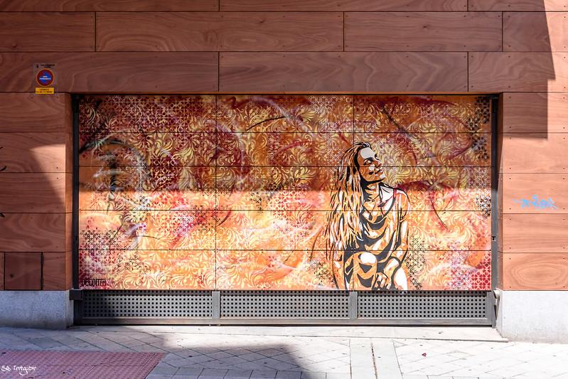 street art artist from Salamanca