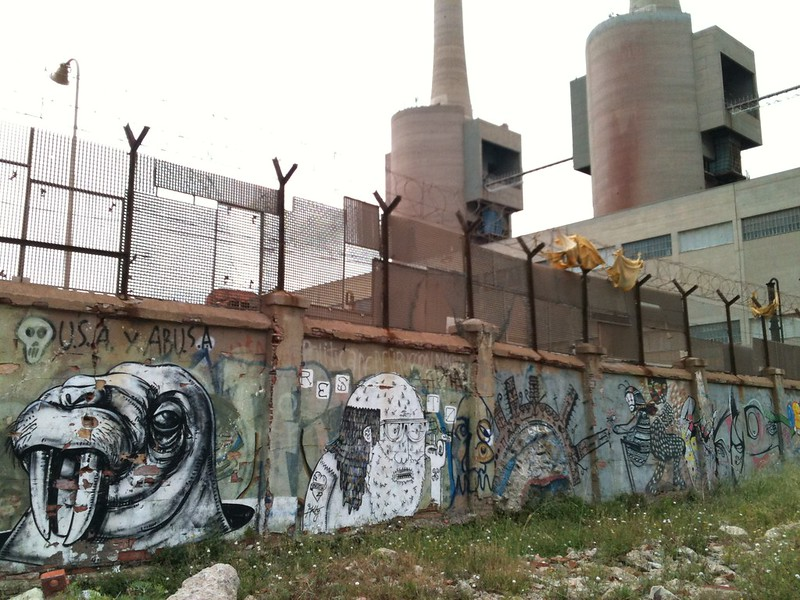 Poblenou street art graffiti