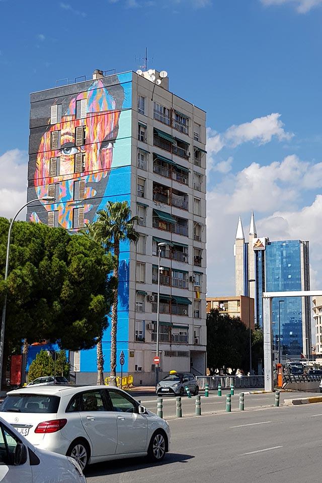 Street art in Murcia