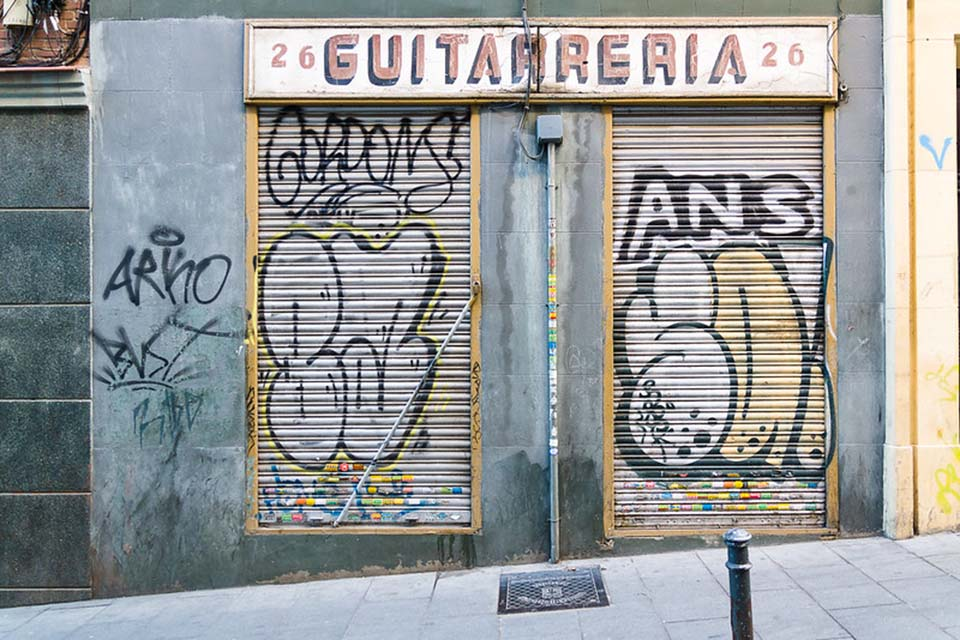 graffiti tour madrid