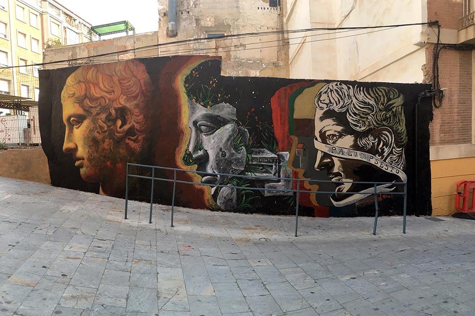 Street art festival in murcia