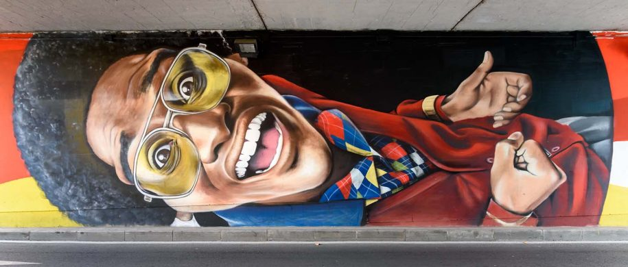 nego graff creates this beautiful piece for street art salamanca
