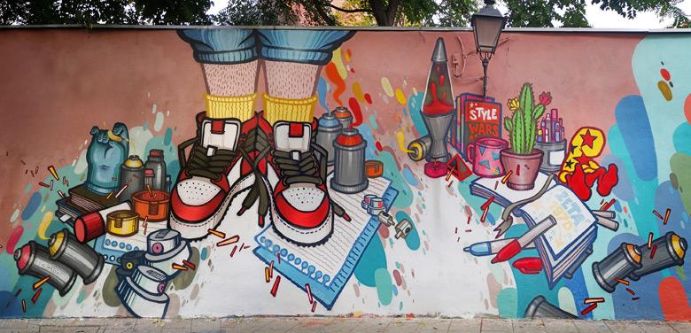 street art lavapies