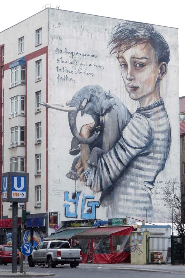 Berlin graffiti Germany