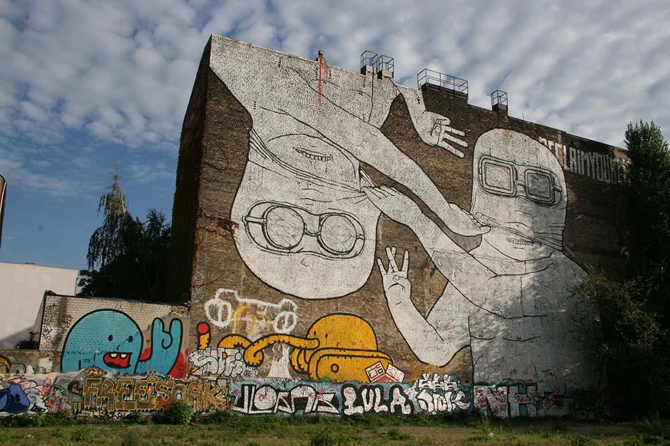 Blu, street art from Italy