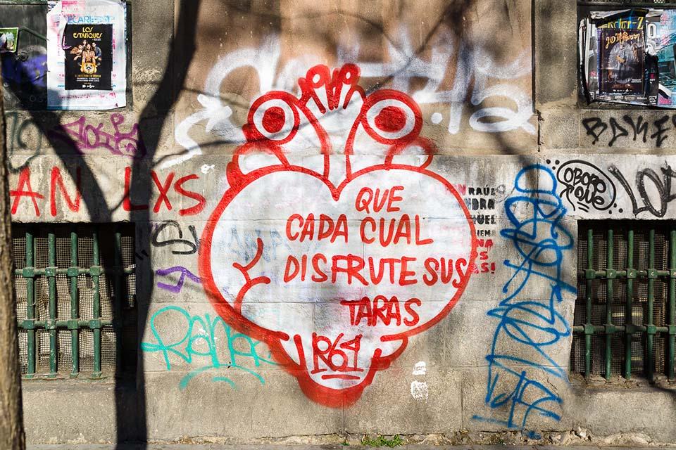 Street art tour collaborator, SR crew