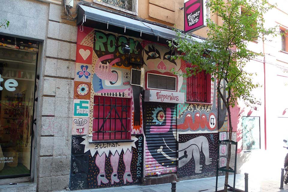 Bars in Malasaña area