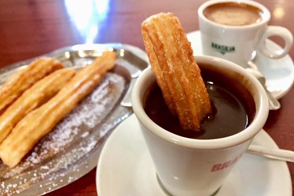 traditional Spanish breakfast