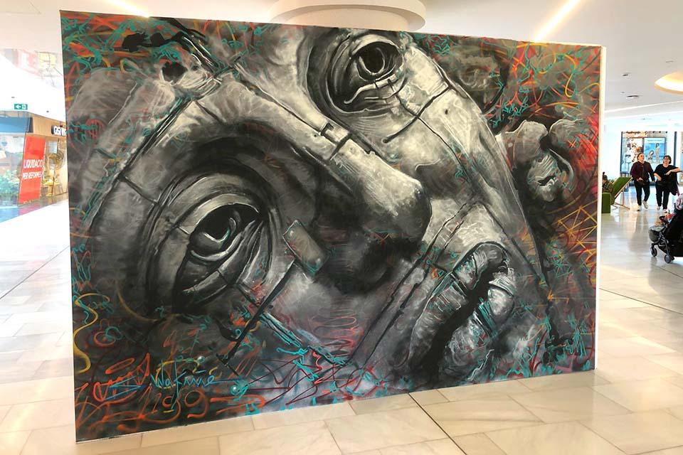 Street art gallery Spain