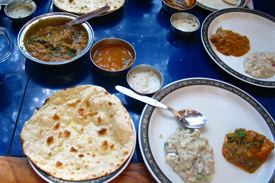 Curry & spicy dishes