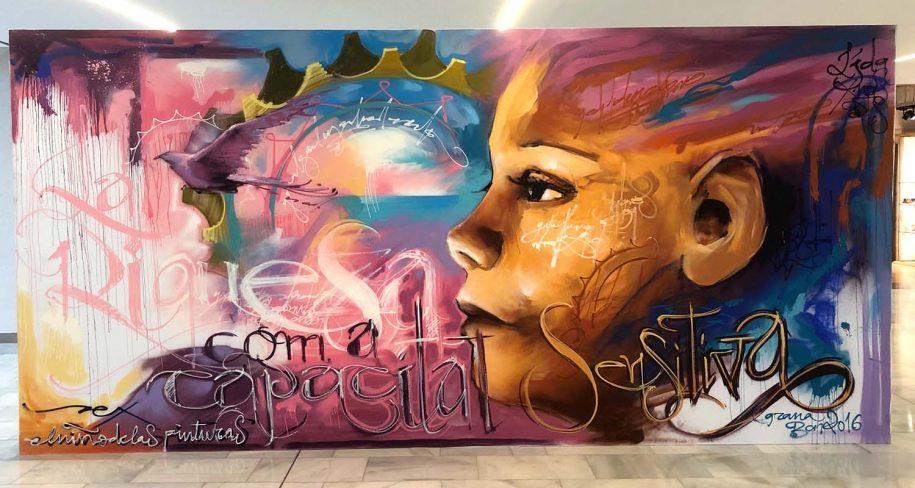 street art canvas by El niño de las pinturas