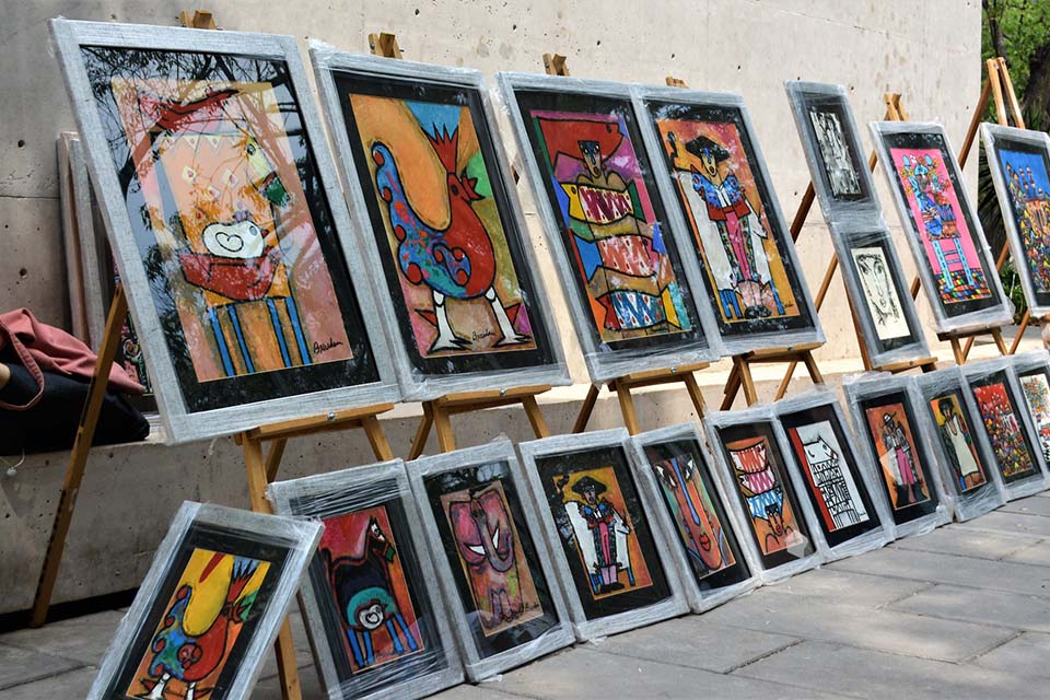 street art canvas exhibition