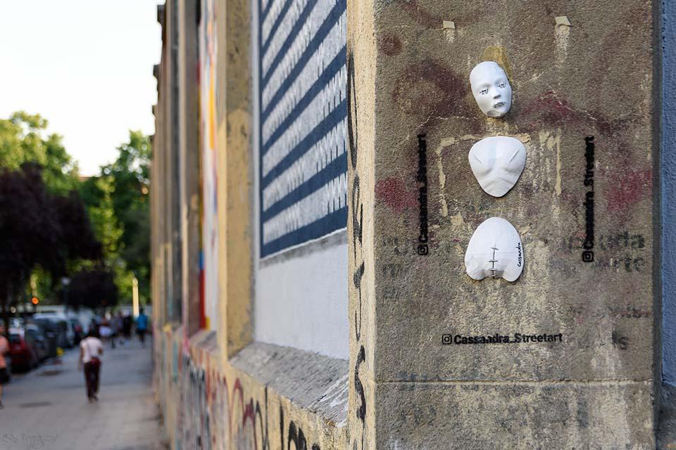 Cassandra is a local street artist
