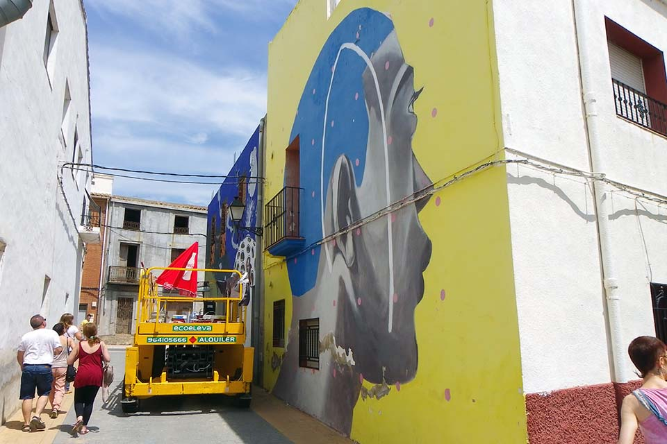 Audacieuse What's the emergent urban street art scene like over the XXI century? LS-97