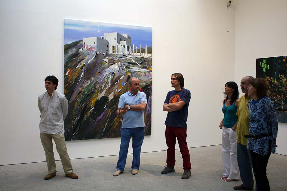 Classic art galleries in Madrid city
