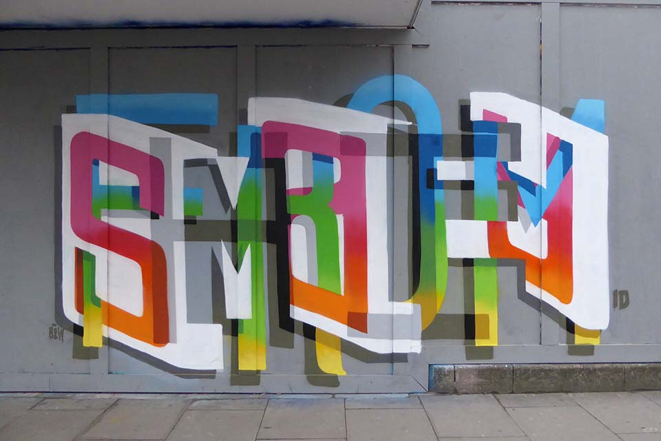 Reading modern street art