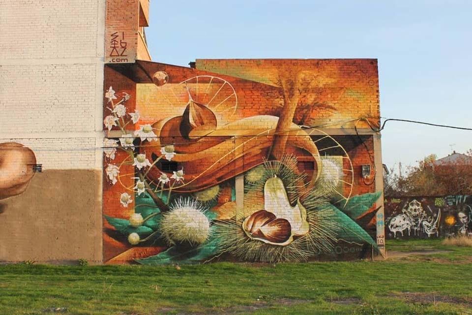 Graffiti project in Leon